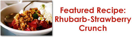 Rhubarb-Strawberry Crunch